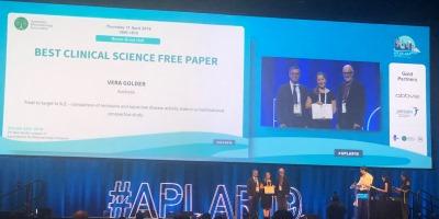 Monash Health Translation Precinct — PhD student Vera Golder wins